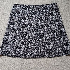 Old Navy Floral A Line Skirt Plus Size 18